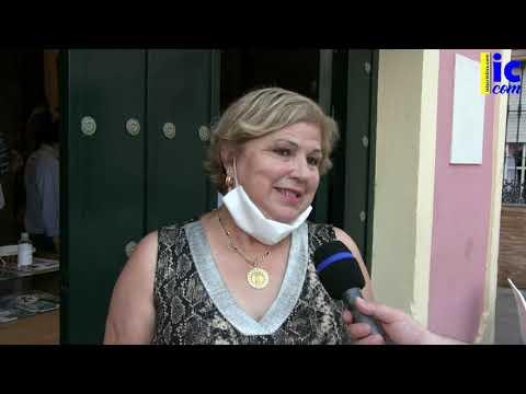 Entrevistas Inauguración LA CACHARRERÍA (Mercadillo Benéfico Hdad Cautivo de Isla Cristina)