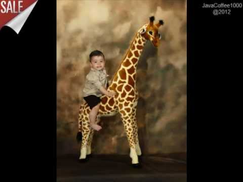 Giant Stuffed Giraffe from Melissa and Doug Giraffe, Best Price