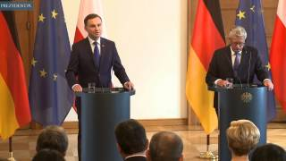 Prezydent Andrzej Duda z pierwszą wizytą w Berlinie