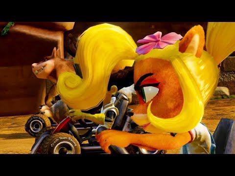 Trailer de gameplay de Crash Team Racing : Nitro Fueled