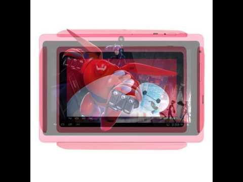 Alldaymall A88X 7'' Tablet - Android 4.4, Quad Core, HD 1024x600, Dual Camera, Bluetooth, Wi-Fi, 8GB