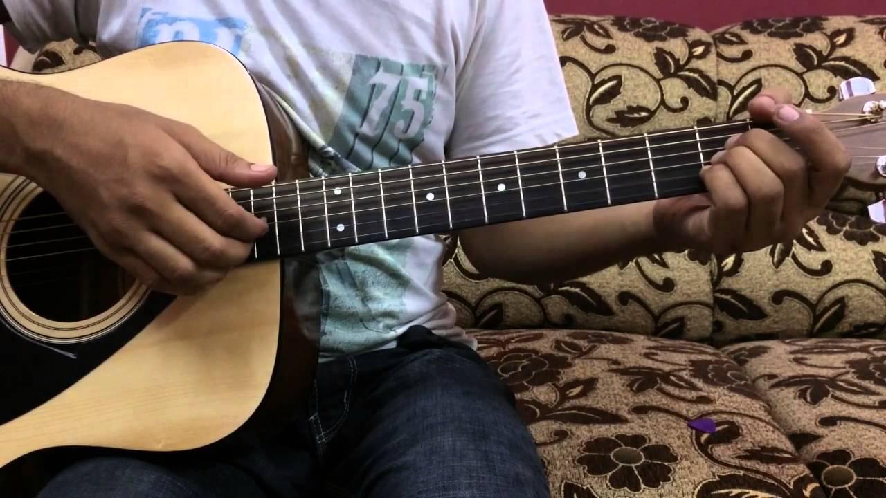 Ek ladki ko dekha to aisa laga complete guitar lesson in Hindi with intro (sanam version)