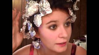 Tin Foil Curls Tutorial