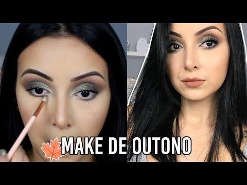 MAQUIAGEM DE OUTONO/INVERNO SEM DELINEADO