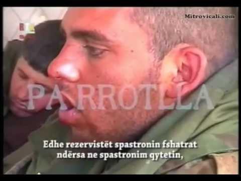 UQK 1999 - Lufta ne Kosov Сербский солдат поймал ОАК Српски војник ухваћен од стране ОВК.