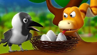 Nonton The Crow And Snake 3d Animated Hindi Stories For Kids   Moral Stories                                                                  Tales Film Subtitle Indonesia Streaming Movie Download