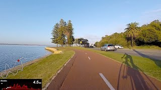 I captured our final early morning ride in Perth on the GoPro Hero5 Session. Here's the ride in full, with map and elevation overlay. I didn't include power/speed/HR/tunes so people can watch this and ride it at their own pace with their own numbers (and tunes) without the distraction. Subscribe to support this YouTube channel: https://goo.gl/QS5YZg-­-­-­-­­---------Web: http://shanemiller.netInstagram: http://instagram.com/gplamaStrava: https://www.strava.com/athletes/gplamaTwitter: https://twitter.com/gplamaYouTube: https://www.youtube.com/user/gplama/--------------------------