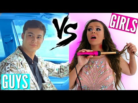 Guys Vs. Girls Back To School PROM!
