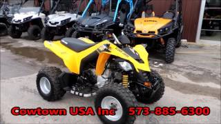 9. 2014 CAN AM DS 250 Yellow