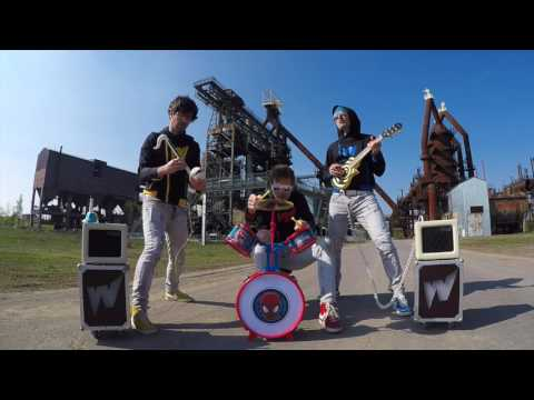An Incredible Toy Instrument Cover of the Rage Against the Machine Anthem  Killing In the Name