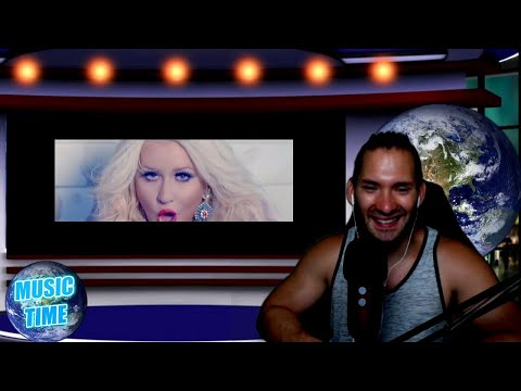 Christina Aguilera - Your Body (Official Music Video) REACTION