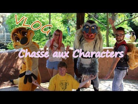 VLOG Disney Land Paris - Chasse aux Personnages #02 [HD]