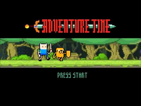 Adventure Time: Videogame Intro