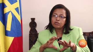 Semonun Addis ,Interview with culture and tourism minster w/r  Tadelech  Delato