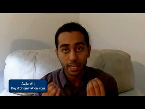 Strategy - http://DaysToDomination.com/ Aziz Ali Hacks Apple's marketing strategy and Gmail's marketing ideas. How to win customers, loyalty and Influence the world 4 P...