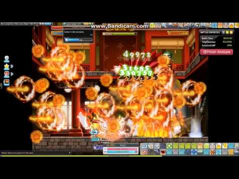 (GMS) MapleStory - Arch Mage Fire/Posion Dojo Test