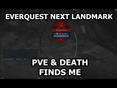 [Everquest Next Landmark] PvE in Caves Ep 2 – Digging Down to Level 3