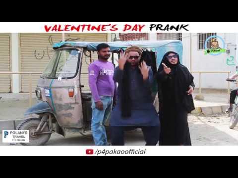 | valentine's day Prank | By Nadir Ali & Ahmed  In | P4 Pakao | 2018