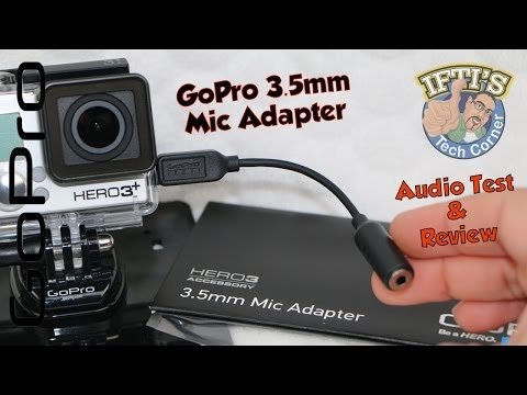GoPro 3.5mm Mic Adapter - Audio Test & Review