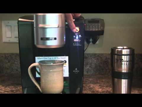 Review Mr Coffee single cup brewer Keurig