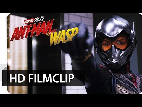 ANT-MAN AND THE WASP - Filmclip: Mit Flügel und Kanonen | Marvel HD
