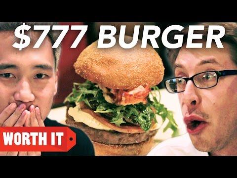 $4 Burger Vs. $777 Burger