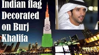 Indian flag on Burj Khalifa,Burj Khalifa, Republic Day, 68th Republic Day Republic day in India is celebrated every year with great honour on 26th of January...