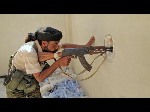 Μάχες για την εκδίωξη των Ισλαμιστών απο τη Ράκα