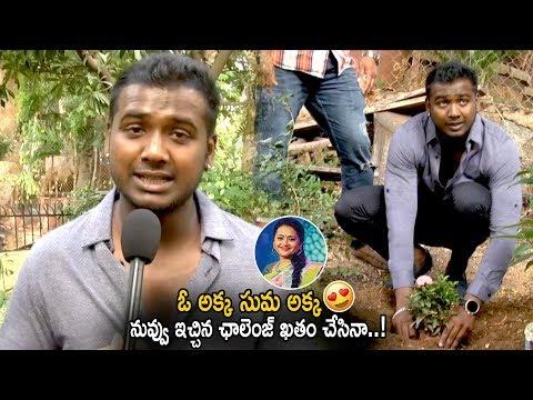 Bigg Boss 3 Title Winner Rahul Sipligunj Accepts Anchor Suma's Challenge