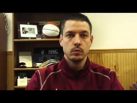 Matt Logie men's basketball Jan. 15, 2015