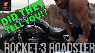 7. Triumph Rocket 3 Roadster (2300cc) Review/Information