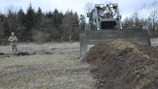 Fjernbetjente bulldozere er fremtiden i Skive