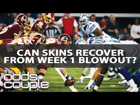 Dallas Cowboys vs Washington Redskins NFL Week 2 Odds Breakdown
