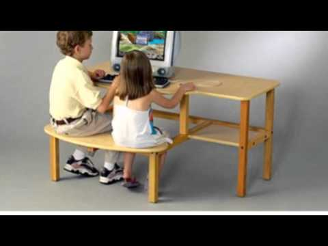Video Childs Wooden Computer Desk For 1 now online at YouTube