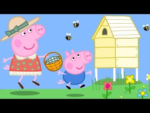 Peppa Pig English Episodes | Spring Outdoor Fun! 🐝| Cartoons for Children #149