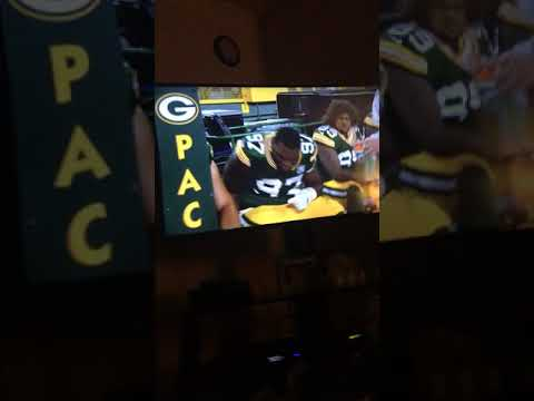 Reacting to the Green Bay Packers game
