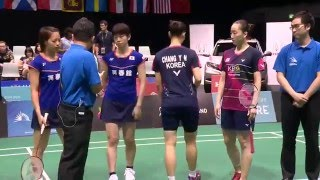 Download Video SKYCITY New Zealand Open 2016 | Badminton F M4-WD | Fuk/Hir vs Chang/Lee MP3 3GP MP4