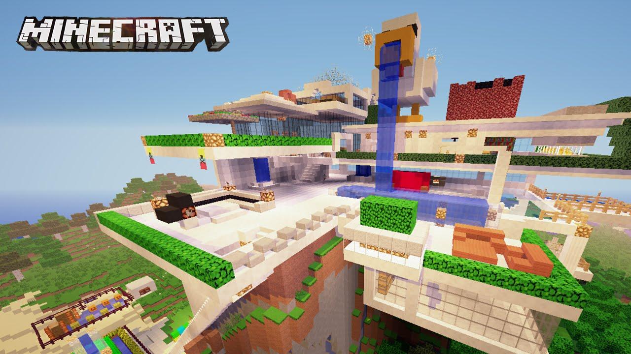 La casa moderna del pato gigante casas de subs en for Casa moderna 2015 minecraft