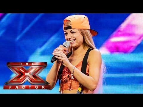 man - Visit the official site: http://itv.com/xfactor Scarlett Quinn was one half of duo Kitten and The Hip, but when their audition didn't quite go to plan, Scarlett found herself as a solo artist...