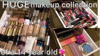 Video HUGE MAKEUP COLLECTION OF A 14 YEAR OLD MP3, 3GP, MP4, WEBM, AVI, FLV Juli 2018