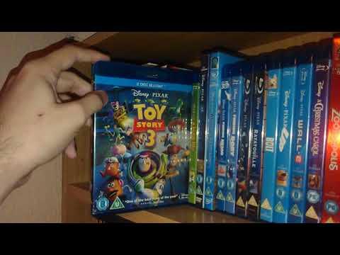 My Disney DVD/Blu Ray Collection