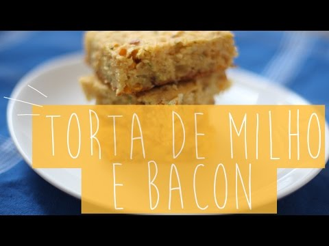 No forno: torta de bacon e brownie especial