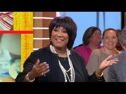 Singer Patti LaBelle shares dessert recipes and reunites with super fan