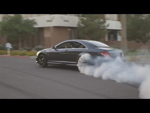 Mercedes CL65 AMG Destroying tires!