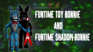 ▷Deviantart- http://133alexander.deviantart.com ▷Subscribe!!!https://www.youtube.com/channel/UCHqJ... ▷Funtime Toy Bonnie-http://133alexander.deviantart.com/art/Funtime-Toy-Bonnie-692433385?ga_submit_new=10%3A1500015418▷Funtime Shadow Bonnie-http://133alexander.deviantart.com/art/funtime-Shadow-Bonnie-v-2-692433521?ga_submit_new=10%3A1500015490