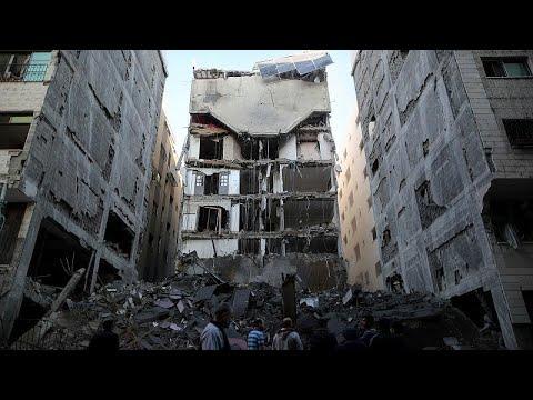 Ισοπεδώθηκε ο τηλεοπτικός σταθμός της Χαμάς στη Γάζα