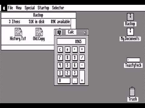 Apple II Desktop / Mousedesk (Apple IIe 128k)