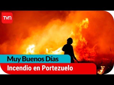 Imagenes de buenos dias - Muy buenos días  Las imágenes de la dramática y angustiosa noche en Portezuelo