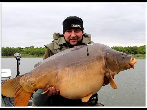 Lac de Madine BIG CARP 3 X 25kg+ (Jaroslav Párys – JETFISH)