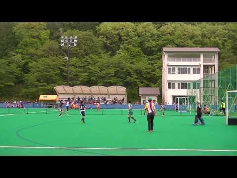 2017 東日本中学校ホッケー日光大会 美杉台 対 川西 前半 女子